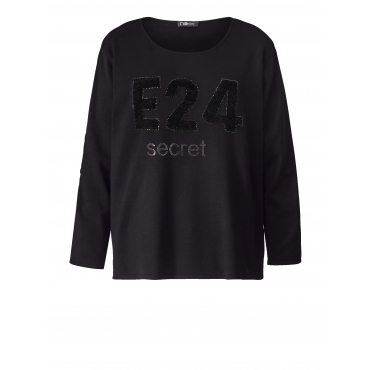 Pullover No Secret Schwarz