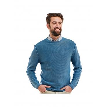Pullover Rundhals Engbers Hellblau