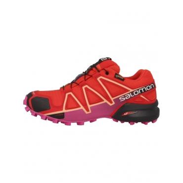 Salomon Laufschuhe Speedcross 4 GTX Women Trail Salomon rot