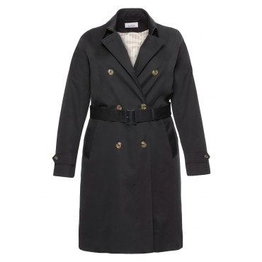 Sheego 2-in-1-Trenchcoat Sheego schwarz