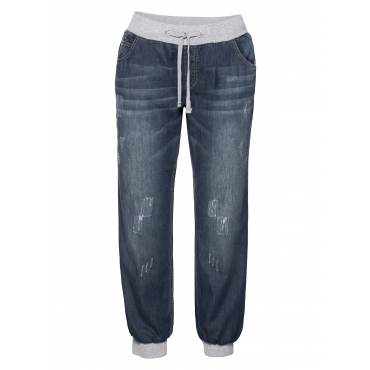 Sheego Pumpjeans Sheego blue Denim