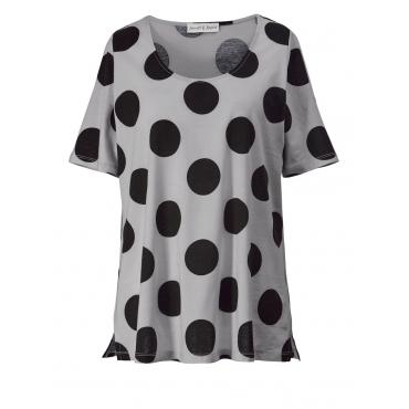Shirt gepunktet Janet & Joyce offwhite bedruckt