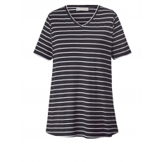 Shirt gestreift Janet & Joyce schwarz/weiß gestreift
