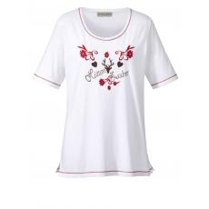 Shirt im Trachten-Look Janet & Joyce weiß