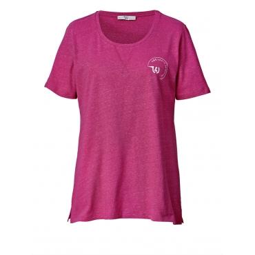 Shirt Janet & Joyce pink-meliert