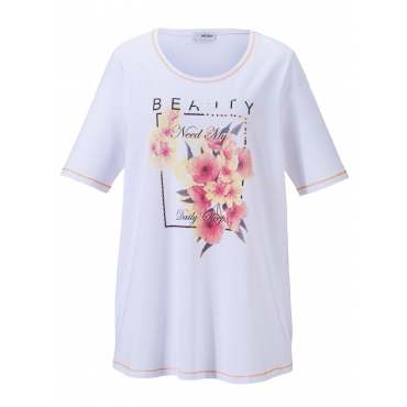 Shirt MIAMODA offwhite bedruckt