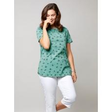 Shirt mit Allover-Print Janet & Joyce mint