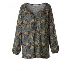 Shirt mit Paisley-Print Janet & Joyce grün bedruckt