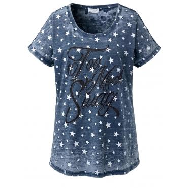 Shirt mit Sternen Angel of Style blau