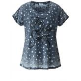 Shirt mit Sternen Angel of Style koralle