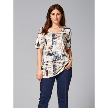 Shirt Sara Lindholm gemustert