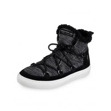 Side Street Warm Wrappers Boot Skechers Schwarz