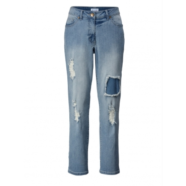 Slim Fit Jeans Angel of Style blue bleached