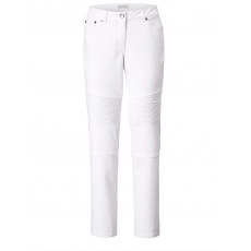 Slim Fit Jeans Angel of Style weiß