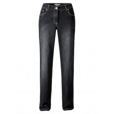 Slim Fit Jeans Emma Dollywood Schwarz