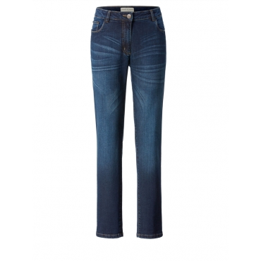 Slim Fit Jeans Janet & Joyce dark blue