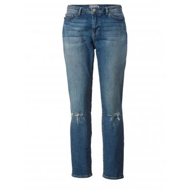 Slim Fit Jeans Junarose Blau