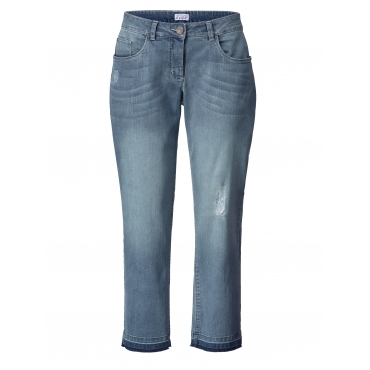 Slim Fit Jeans knöchellang Angel of Style Denim