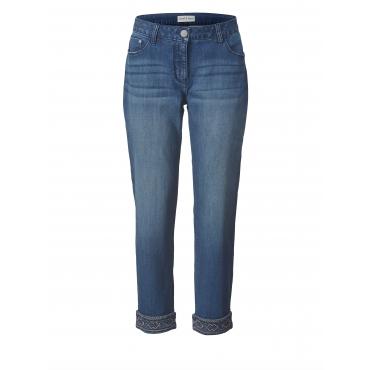 Slim Fit Jeans knöchellang Janet & Joyce Blau