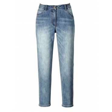 Slim Fit Jeans knöchellang Janet & Joyce dark blue