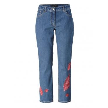 Slim Fit Jeans knöchellang Sara Lindholm blue denim