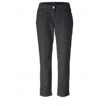 Slim Fit Jeans knöchellang Sara Lindholm Schwarz