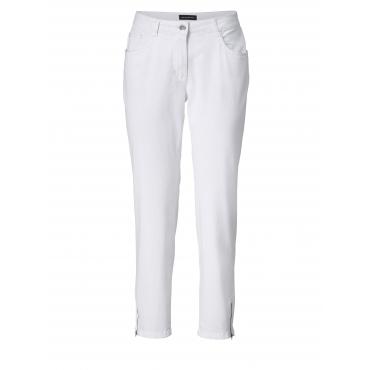 Slim Fit Jeans knöchellang Sara Lindholm Weiß