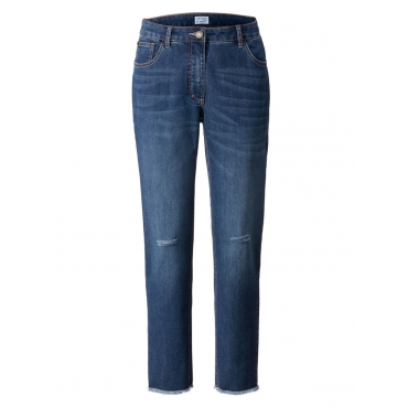 Slim Fit Jeans mid dark blue Angel of Style mid dark blue