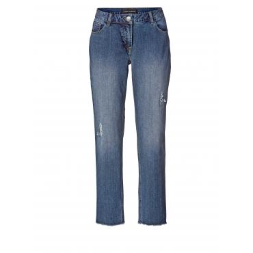 Slim Fit Jeans mit Strass Sara Lindholm Blau