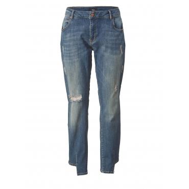 Slim Fit Jeans Zizzi Blau
