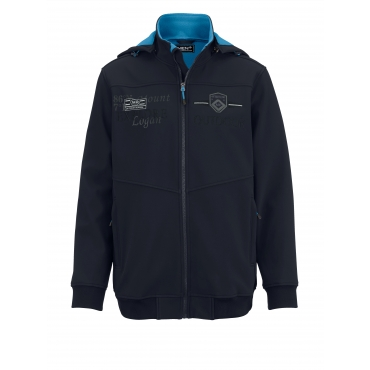 Softshelljacke Men Plus marine/polarblau