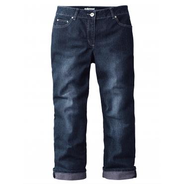 Straight Cut Jeans Amy Dollywood Schwarz