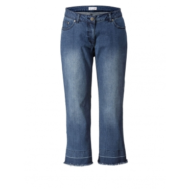 Straight Cut Jeans Angel of Style blue stone