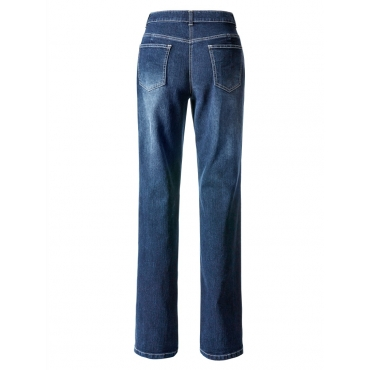 Straight Cut Jeans »Paula« Dollywood blue stone