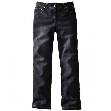 Straight Cut Jeans »Paula« Dollywood schwarz