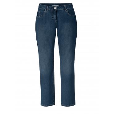 Straight Cut Jeans Paula Dollywood Schwarz
