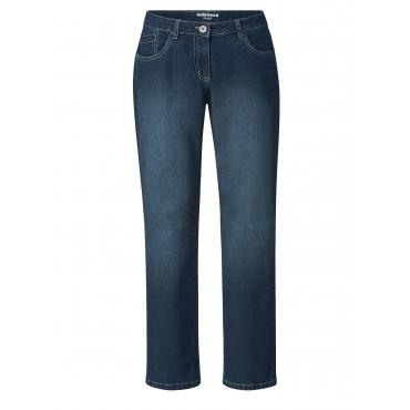 Straight Cut Jeans Stella Dollywood Blau