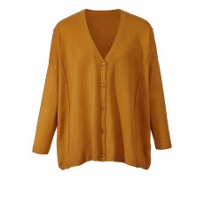 Strickjacke in Oversize-Form Angel of Style curry