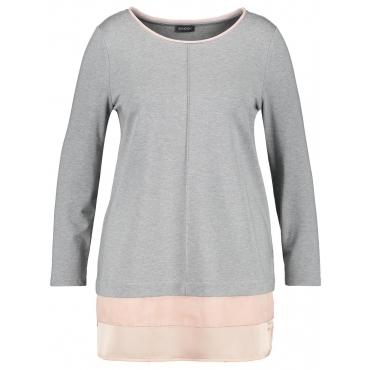 Sweat-Shirt mit Chiffon-Patch Samoon Bright Light Patch