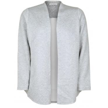 Sweatblazer LISBOA Zhenzi grey melange