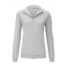 Sweatjacke Mey light grey melange