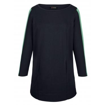 Sweatkleid MIAMODA Marineblau::Grün