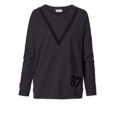 Sweatshirt Angel of Style schwarz