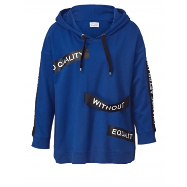 Sweatshirt mit Kapuze Angel of Style Blau