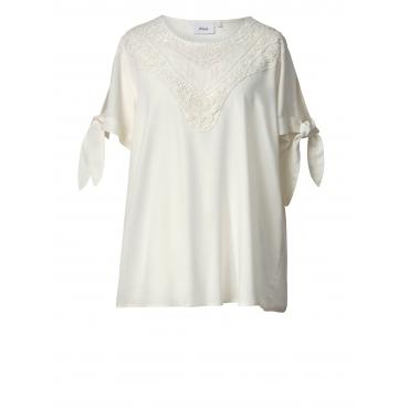 Tunika mit Spitze Zizzi Off-white