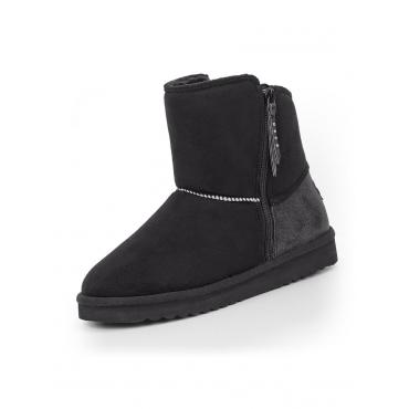 Uma Zip Boots Esprit Schwarz