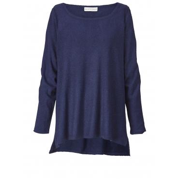 Vokuhila-Pullover Janet & Joyce Marineblau