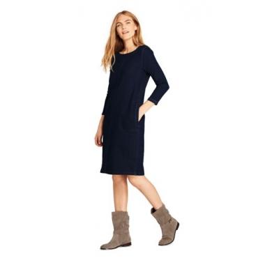 Jeanskleid aus Soft-Denim