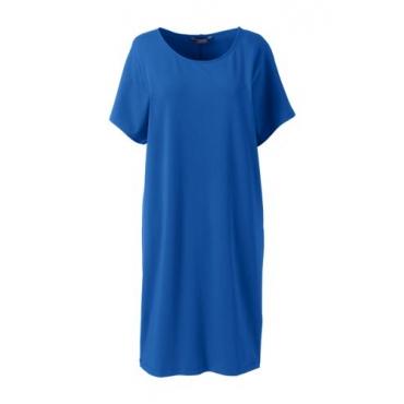 Jersey-Shirtkleid aus Baumwolle/Modal
