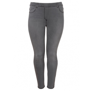 Coole Jeans im 4-Pocket-Stil Via Appia Due jeans grau